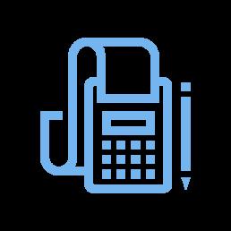 handheld calculator icon